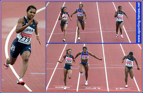 Rachelle Boone-Smith - U.S.A. - 2005 World Championship 200m silver medal