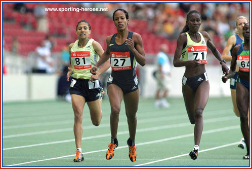 Zulia Calatayud - Cuba - World 800 metres Champion in 2005.