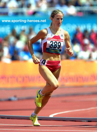 Diane Cummins - Canada - 800m silver at 2002 Commonwealth Games.