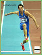 Fabrizio DONATO - Italy - 2009 European Indoor Champs Triple Jump Gold (result)