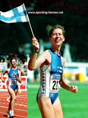 Sari Essayah - Finland - 1993 World & 1994 European 10km Walk Champion (result)