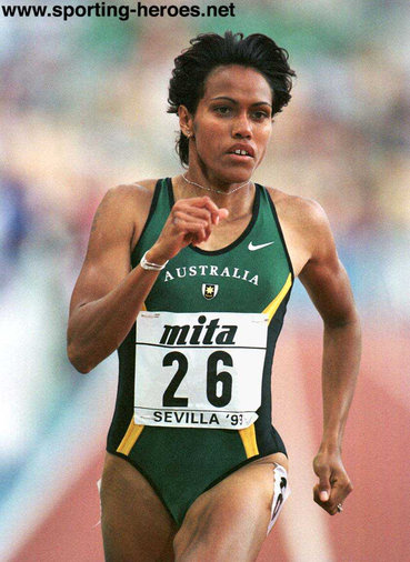 Cathy Freeman - Australia - Defends World crown in Seville