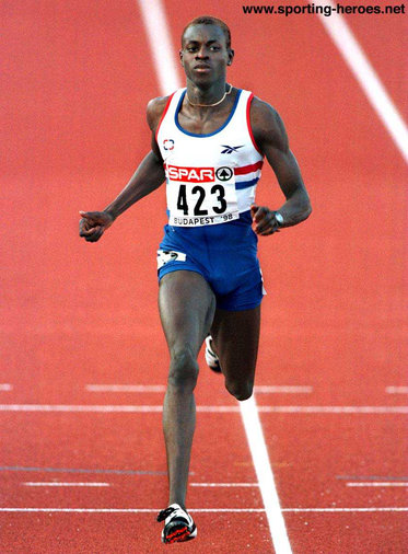 Julian Golding - Great Britain - 1998 Commonwealth Gold & European Bronze over 200m