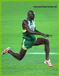 Jadel GREGORIO - Brazil - 6th in the Triple Jump at 2005 World Champs.