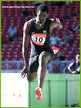 Jadel GREGORIO - Brazil - 2nd in the Triple Jump at 2006 GP Final & World Cup.