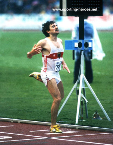 Patriz Ilg - West Germany - World & European 3,000m steeplecahse champion.