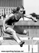 Johanna KLIER - East Germany - Gold medals at 76 Olympics & 78 Europeans 100m hurdles.