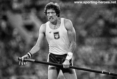 Wladyslaw Kozakiewicz - Poland - Olympic Pole Vault gold in 1980