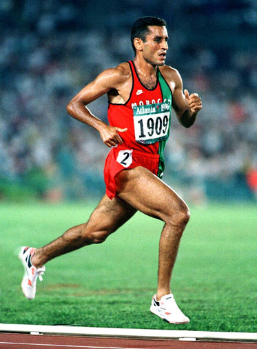 Brahim Lahlafi - Morocco - 5000m bronze medallist at 2000 Olympic Games.