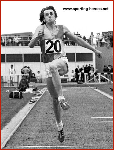 Alan Lerwill - Great Britain - 1974 Commonwealth Games Long Jump Champion.