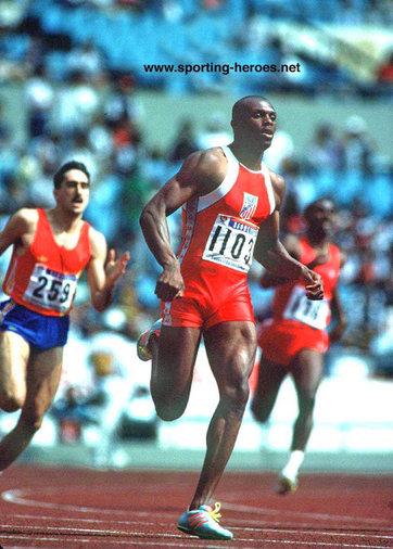 Steve Lewis - U.S.A. - 1988 Olympic Games 400m Champion.