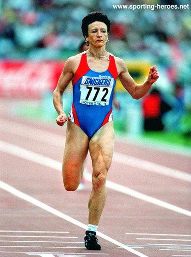 Galina Malchugina International Athletics Career
