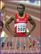 Churandy MARTINA - Netherlands Antilles - 5th in the 100m at the 2007 World Championships.
