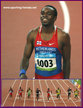 Churandy MARTINA - Netherlands Antilles - Just outside the 100m medals at the 2008 Olympics.