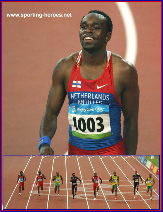 Churandy MARTINA - Just outside the 100m medals at the ...