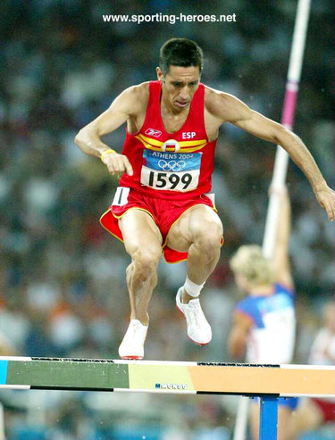Luis Miguel Martin - Spain - Steeplechase bronze at 2002 European Championships
