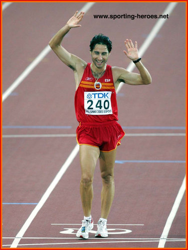 Juan Molina - Spain - 2005 World Championships 20km Walk bronze medal