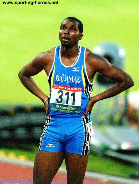 Avard Moncur Avard MONCUR 400m bronze at 2002 Commonwealth Games Bahamas
