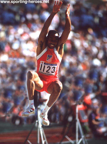 Mike Powell - U.S.A. - Long Jump world record and two World Championship golds.
