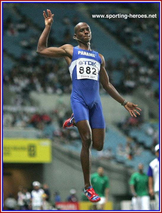 Last Sunday In August Felt More Like >> Irving SALADINO - 2007 World Championships Long Jump Gold. - Panama