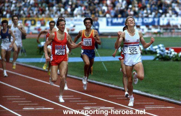 Steve Scott (athlete) Steve SCOTT 1500m silver at inaugural World