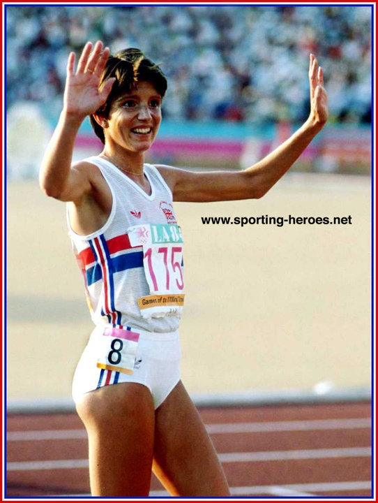 Wendy Sly 3000m Silver At 1984 Olympics Great Britain