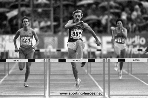Marina Stepanova - U.S.S.R. - 1986 European 400m hurdles champion with World Record