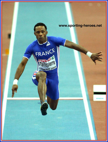 Karl Taillepierre - France - Championship record in triple jump