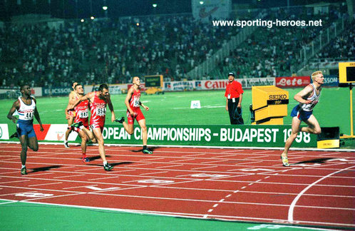 Iwan Thomas - Great Britain - 400m European & Commonwealth Champion in 1998 (result)