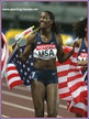 DeeDee TROTTER - U.S.A. - 2007 World Championships 4x400m Gold medal