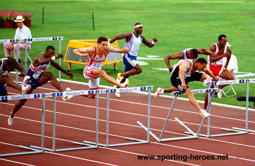Emilio Valle - Cuba - Fourth in110m Hurdles medal at 1996 Olympic Games.