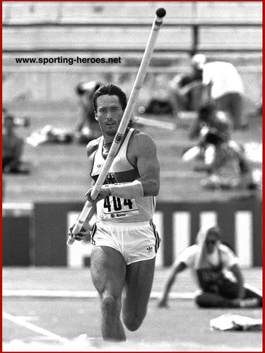 Siggi Wentz - West Germany - 1987 World Champs Decathlon silver (Result)