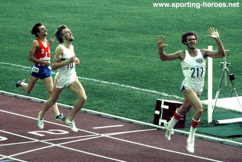 Richard Wohlhuter - U.S.A. - 1976 Olympic Games 800m bronze medalist.