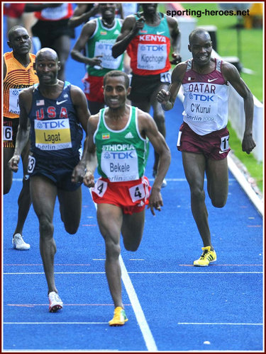 James Kwalia C'Kurui - Qatar - 2009 World Championships 5000m bronze medal.