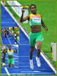 Caster SEMENYA - South Africa - 2009 World 800m Champion.