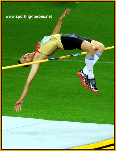 Raul-Roland Spank - Germany - 2009 World Championships High Jump bronze medal.