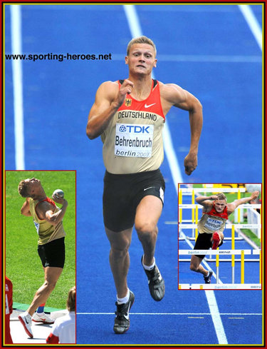Pascal Behrenbruch - Germany - 6th in the Decathlon at the 2009 World Championships.