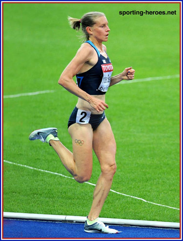 Amy Yoder Begley - U.S.A. - 6th in the 10,000m at the 2009 World Championships.
