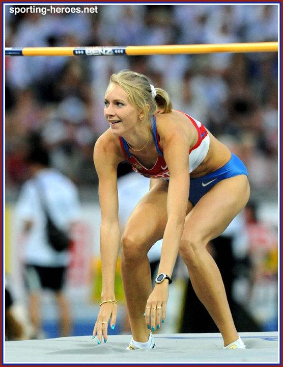Svetlana SHKOLINA - 6th in the High Jump at the 2009 World