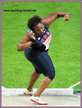 Michelle CARTER - U.S.A. - 6th in the Shot Put at the 2009 World Championships.
