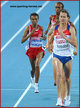 Elvan ABEYLEGESSE - Turkey - Two Gold medals at 2010 European Championships