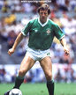 Gerry ARMSTRONG - Northern Ireland - Northern Ireland International Football Caps.