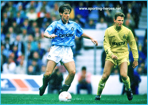 Ian BISHOP - Manchester City FC - Biography of Man City career.