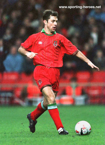 Mark Bowen - Wales - Welsh Caps 1986-97