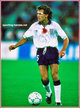 Tony DORIGO - England - Biography of his England football career.