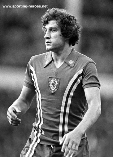 Phil Dwyer - Wales - Welsh Caps 1978-79