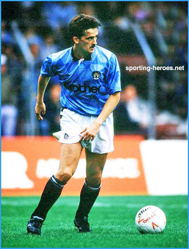 Gary Fleming - Manchester City FC - Biography of his football career Man City.