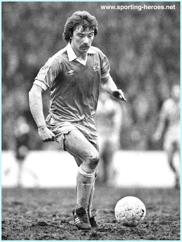 Tony Henry - Manchester City FC - Biography of his football career at Man City.