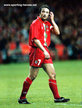 Barry HORNE - Wales - Iinternational matches for Wales.
