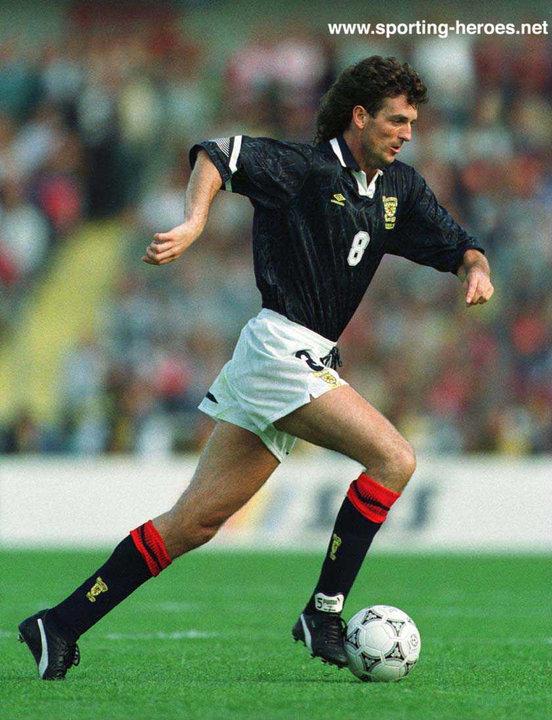 Dave McPherson (footballer) Dave McPherson Scottish Caps 198993 Scotland